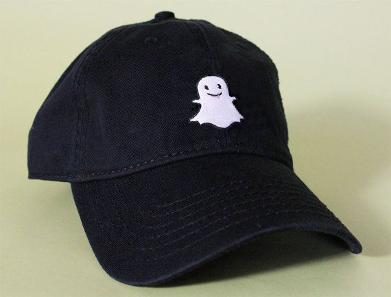 NEW GHOST Dad Hat Baseball Cap low profile 100 % by BrainDazed