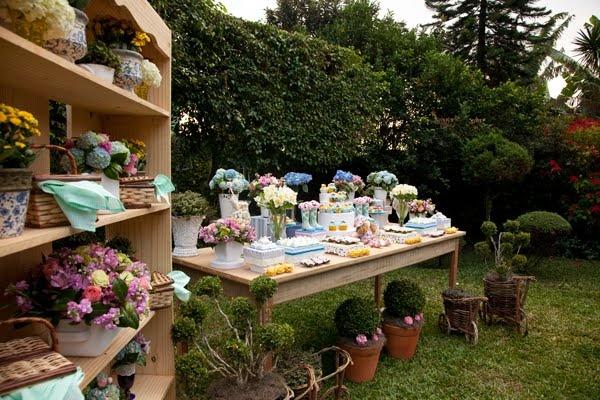 ❦ Festa no Jardim