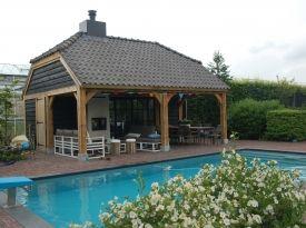 Poolhouse | Van Meel Timmerwerken | www.vanmeeltimmerwerken.nl