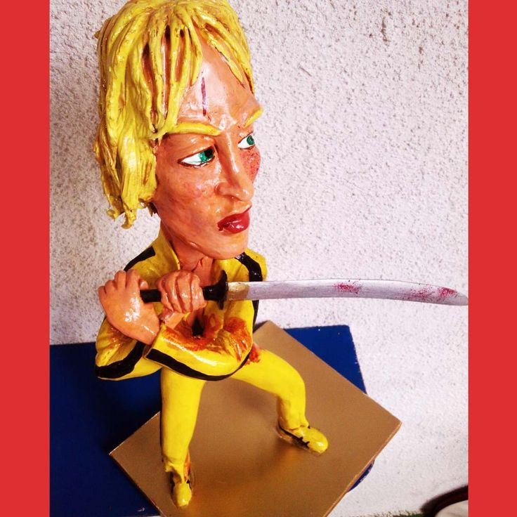 #UmaThurman #Tarantino #pulpfiction #MiaWallace #sculptures #caricatura #artstagram #KillBill #TheBride #BeatrixKiddo #art #serbia #quentintarantino #belgrade #zarkomandic #caricature #artists #sculptor #скульптуры #TheHatefulEight  #belgradephoto #quentin.tarantino.art #карикатуры #belgraderestaurant #belgradefood #belgradenightlife #belgradestreets #сербия #ig_belgrade