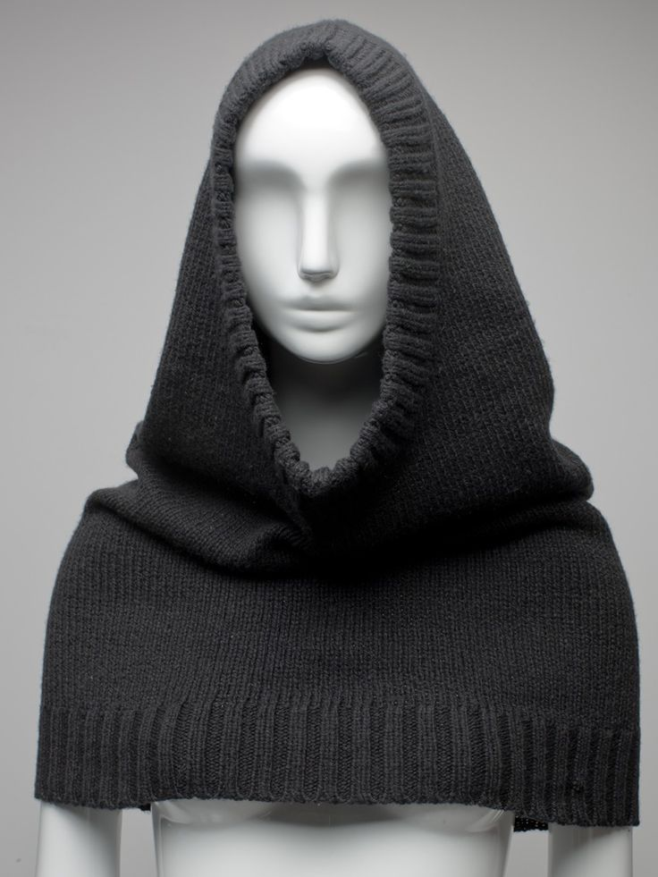 Knit Snood-- cool easy-looking knitting project