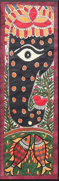 Indian Painting Styles...Madhubani/Mithila  Painting (Bihar)-ganeshamadhubani1-27-.jpg