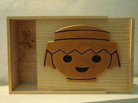 ZinZentido: Caja para guardar los clic de playmobil