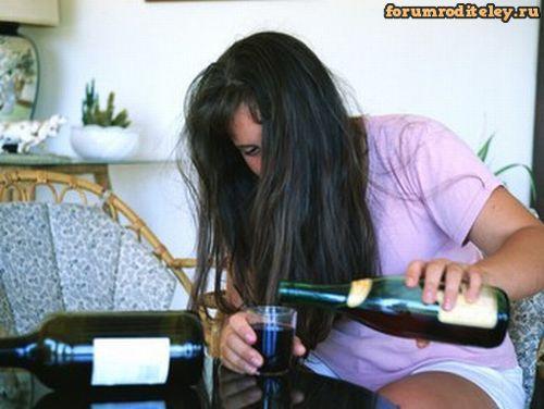 Женский алкоголизм в семье. Если пьет жена :: forumroditeley.ru - форум…