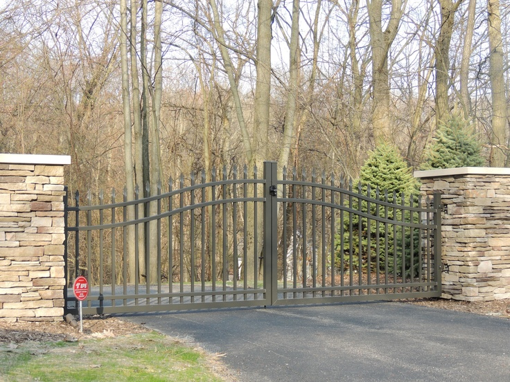 1000 Images About Aluminum Gates Doors On Pinterest