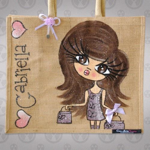 ClaireaBella Large Jute Bag 3