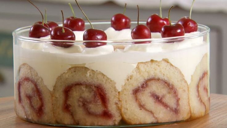This Tipsy Trifle is Mary's interpretation of the signature challenge in the Desserts episode of Season 2 of The Great British Baking Show.