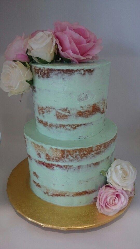 naked birthday cake girl