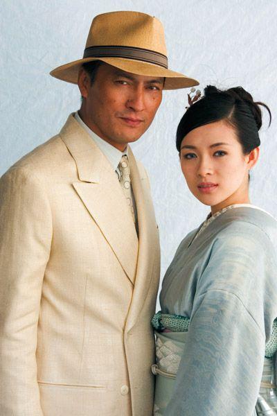 """Ken Watanabe & Ziyi Zhang in """"Memoirs of a Geisha"""""""