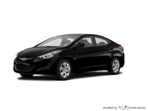 Hyundai Elantra 2014 - Noir