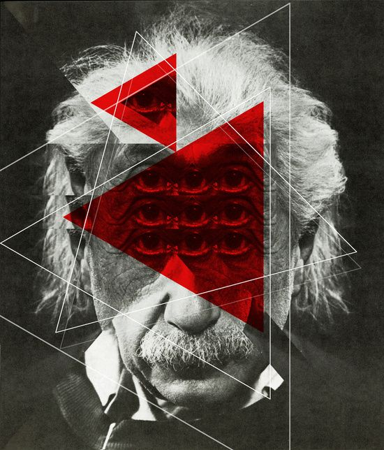 Albert E Mix 1c Art Print