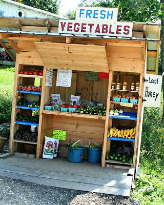 During our fruit and vegetable growing season I stop at Amish farm stands on my drive home from work. Eric, see your car? Do you miss it? A ...
