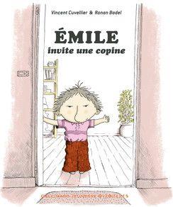 De Vincent Cuvelier et Ronan Badel aux éditions Gallimard  Aujourd'hui, Emile invite une copine, c'est décidé! Et c'est même pas Julie, sa chérie de l'école... Nan, c'est une copine de parc. Qu'est ce que ça peut faire si c'est une vieille dame. C'est une copine-vieille dame et puis c'est tout ! Premières lectures