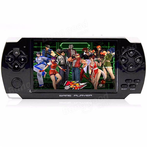 4.3'' Screen 8G 32 Bit Portable Handheld Game Console Player 10000+ Retro Games Sale - Banggood.com