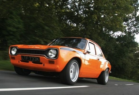 1972 Ford Escort Mexico Mk1 Orange