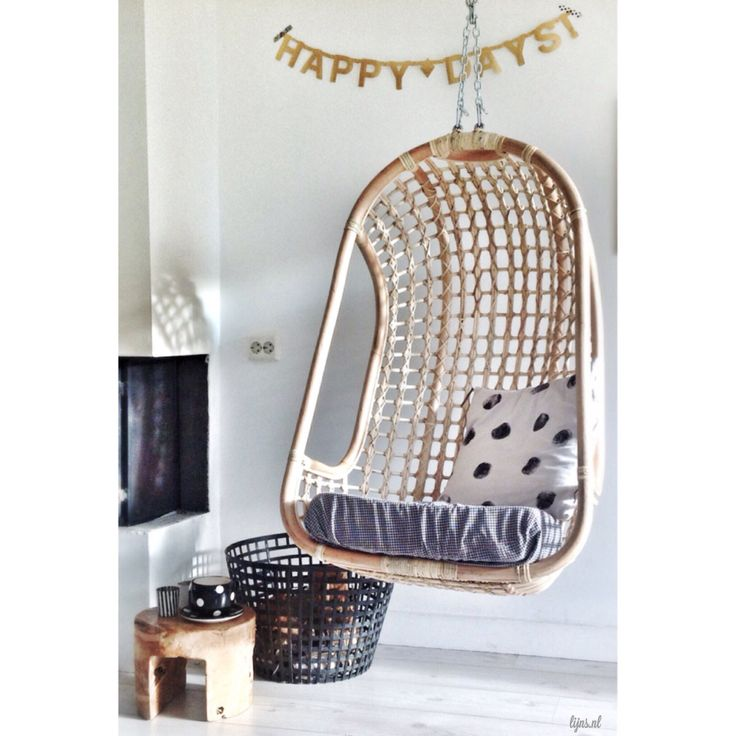 I will love to find a chair like this to put outside. It brings memories from my childhood