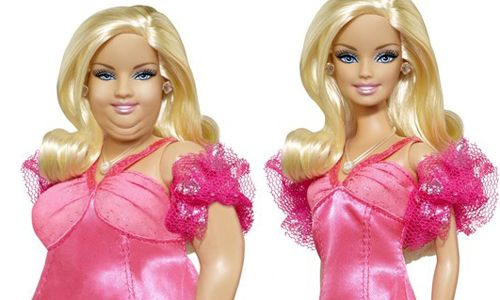 Şişman Barbie bebek