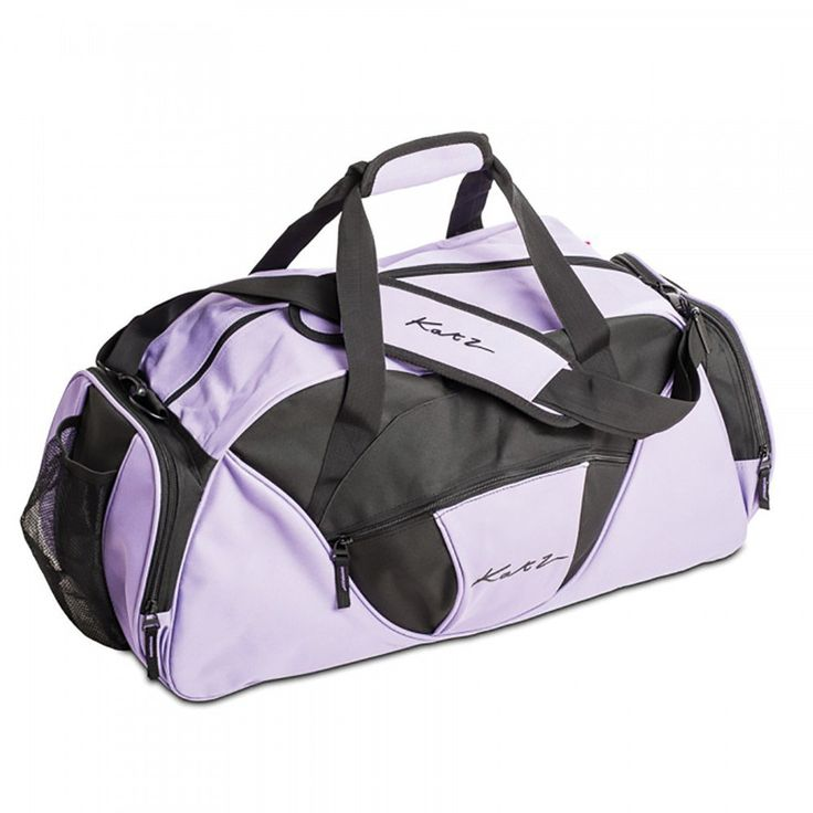 Girls Ladies Large Purple Dance Ballet Tap Kit Holdall Sports Bag By Katz