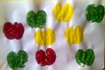 apple crafts for preschool (7)