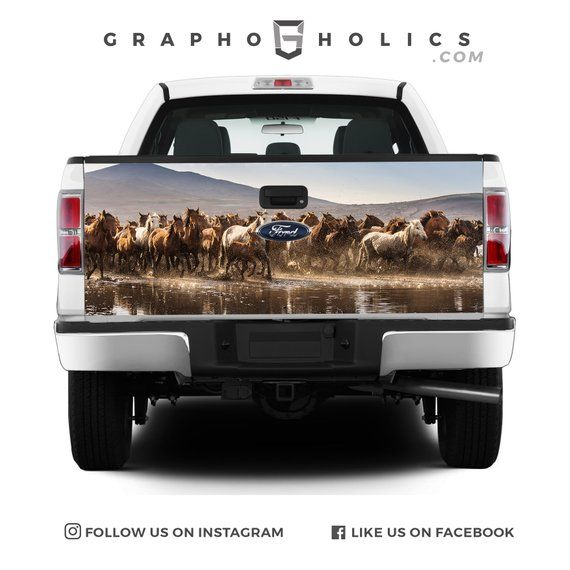Pick-Up Truck Tailgate Wraps Oklahoma