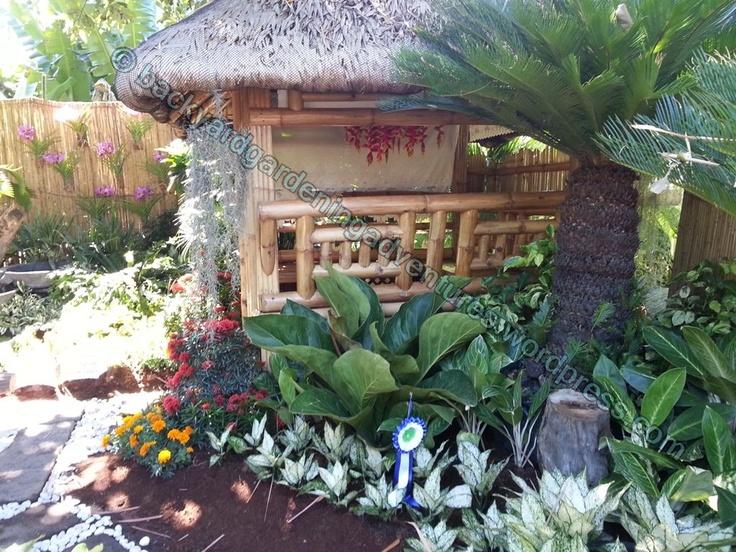 garden design with bahay kubo Philippine Nipa Hut Bahay Kubo