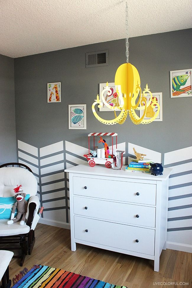 1000 images about nursery paint colors and schemes on - Como pintar una habitacion a rayas ...