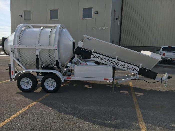 Portable Concrete Mixer Batching Plant 1 2 Cubic Yards Ez 1 1 Mix Right Right Manufacturing Systems In 2020 Concrete Mixers Concrete Fuel Economy