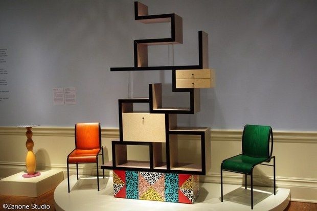 """Ettore Sottsass was part of 1960s counterculture. As a designer and architect he believed that """"Everything must remain possible,"""" """"It must be possible to design instability."""" .......the Max shelf."""