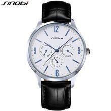 SINOBI Slim Quartz-watch Leather Wristband Mens Watches Top Brand Luxury Casual Sports Japan Movt Quartz Watch Men Wristwatches(China (Mainland))