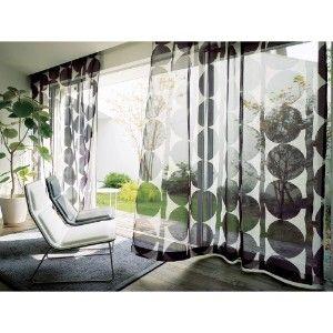 透け感を楽しむボイルカーテン。素敵なコーディネート実例 | iemo[イエモ]