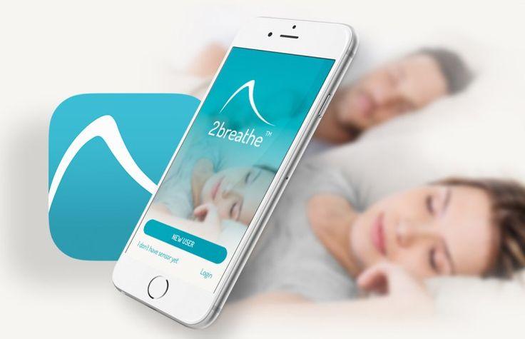 """""""Conciliá el sueño sin esfuerzo. Despertate renovado"""", eso es lo que propone el dispositivo inteligente """"2breathe"""", una cinta que se ubica en el pecho y que, trabajando en conjunto con una aplicación móvil, guía al humano en la respiración para inducir el sueño."""
