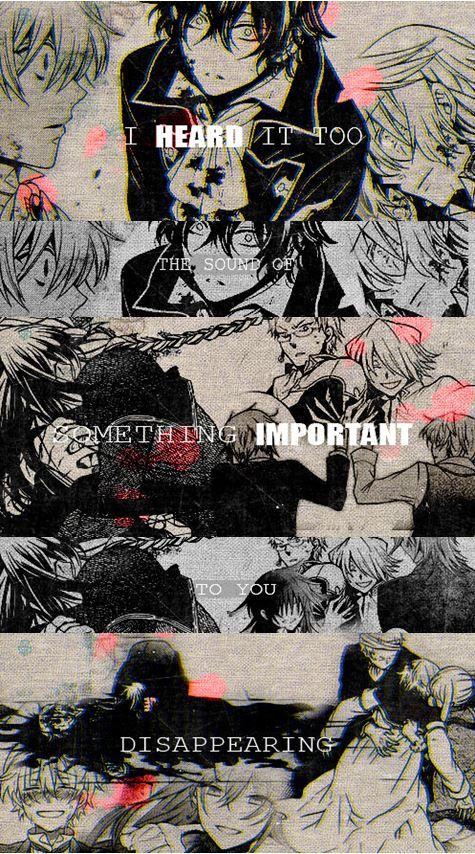 Pandora Hearts - .......... THA FEELZ !! T_T *sobs*