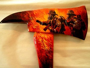 Firefighter Equipment Art