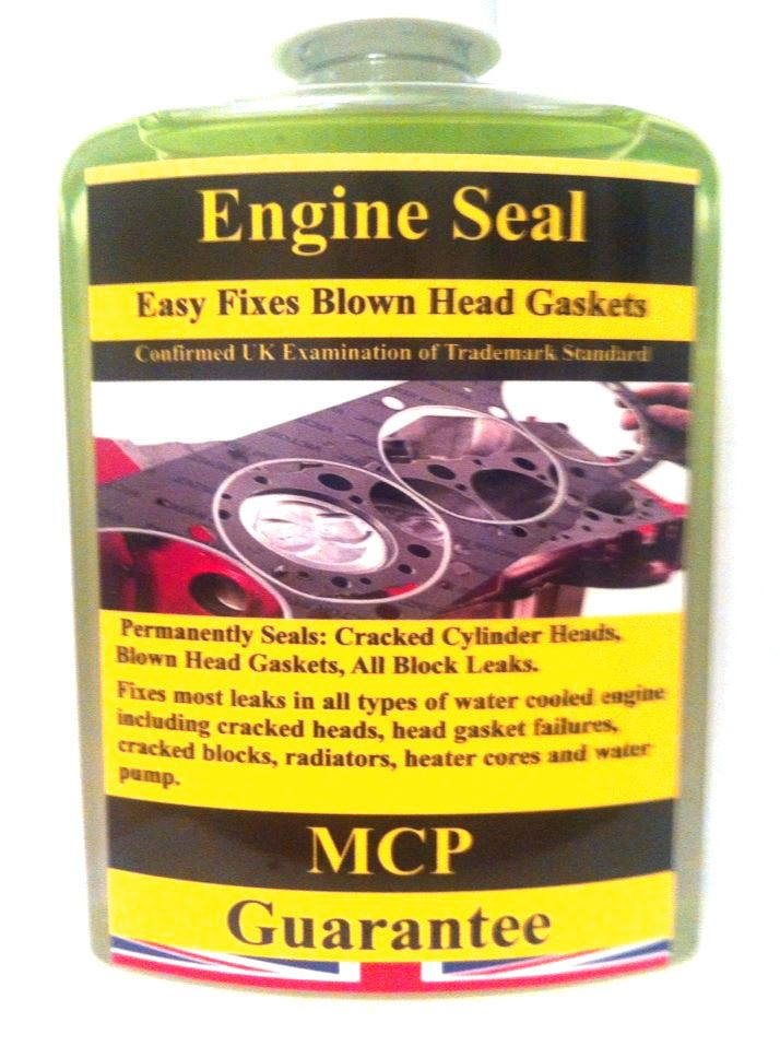 ENGINE BLOCK SEAL, WRAPPED CYLINDERS BLOCKS & SEALED BLOWN HEAD GASKET.GUARANTEE