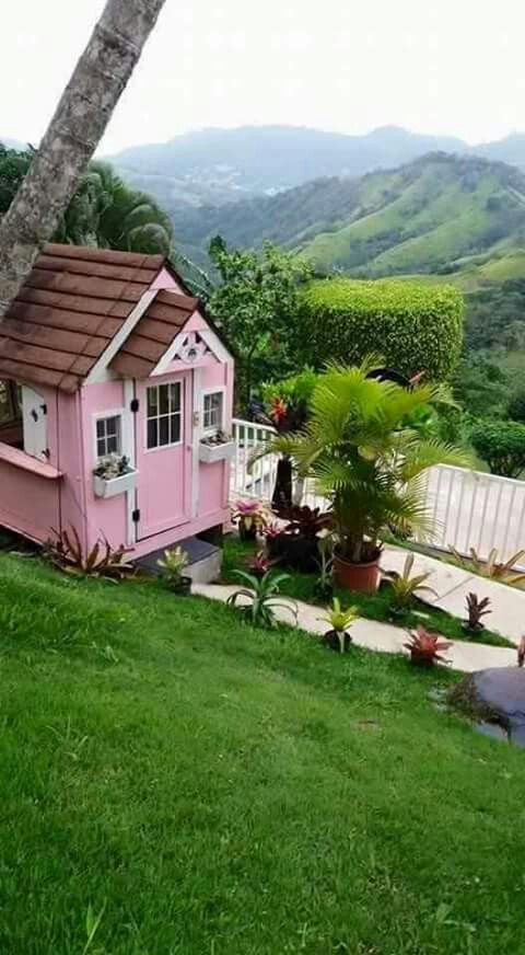 puerto rico backyards backyard courtyards gardens find this pin and more on casitas de campo - Casitas De Campo