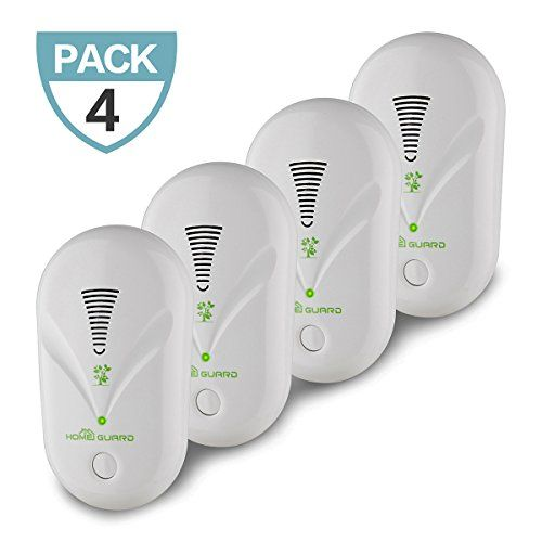 Pest Control Sprayers - Pest Repeller Ultrasonic Pest Control 4 Pack Electronic PlugIn Repellent for Insects Cockroach Roaches Flies Ants Spiders Fleas Mice Bugs Spiders White -- Details can be found by clicking on the image.