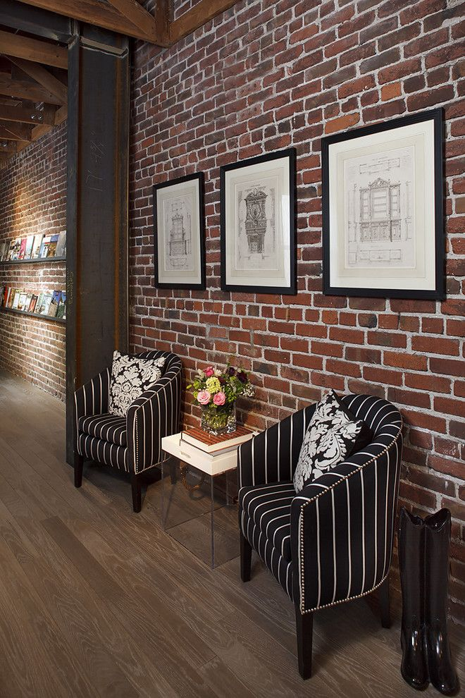 Best 25 fake brick walls ideas on pinterest faux panel for Interior brick wall designs