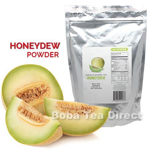 Honeydew Boba Tea / Bubble Tea Powder (Original)