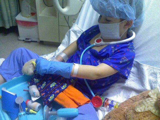 Prepping for Surgery:  Doll provided by child life specialist. From Early Childhood and Youth Development Blog, Dawn Braa