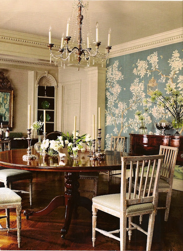 Best The Chinoiserie Dining Room Images On Pinterest