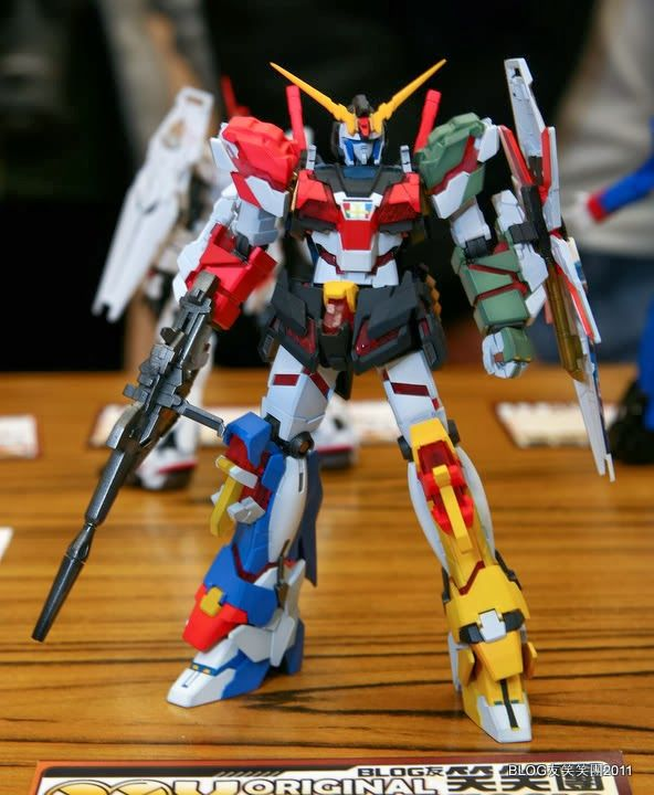 GUNDAM GUY: Gundam UC: HGUC Unicorn Gundam Customized Build - On Display MY ORIGINAL 1/144 GUNPLA BLOG友 笑笑團 Event