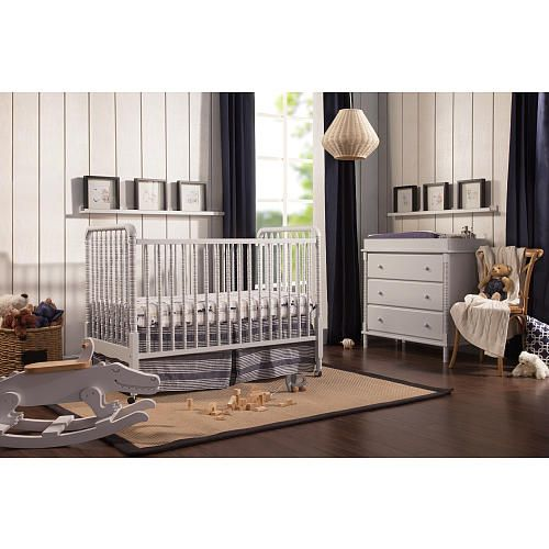 A beloved nursery favorite, the DaVinci Jenny Lind Classic 3-in-1 Convertible Crib features intricate detailing and signature spindle posts. Loved for its timeless elegance, Jenny Lind graces your nursery with a unique charm and innocence. Jenny Lind Crib meets or surpasses the latest safety standards, and every crib undergoes individual inspection.<br><br>DaVinci Jenny Lind Classic 3-in-1 Convertible Crib features:<br><ul><li>GREENGUARD Certified</li><br><li>Finished in non-toxic…