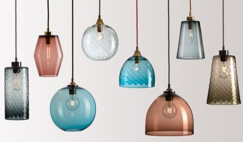 Pick-n-Mix range of lights in five different shapes