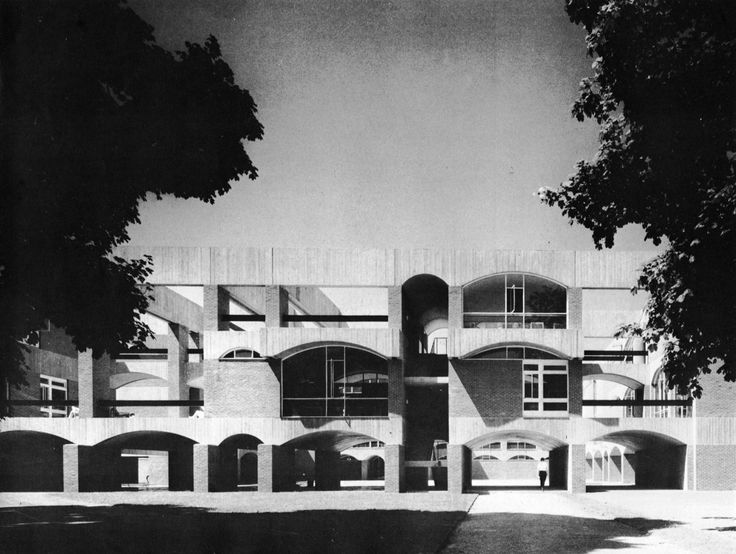 Falmer house, University of Sussex  Brighton, England 1959-62  Sir Basil Spence