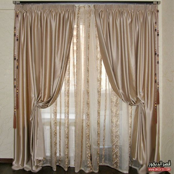 اشكال ستائر مودرن للريسبشن Modern Curtains For Reception