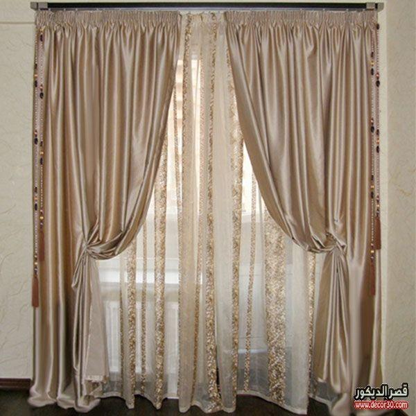 اشكال ستائر مودرن للريسبشن Modern Curtains For Reception قصر الديكور Classic Dining Room Modern Curtains Holiday Room