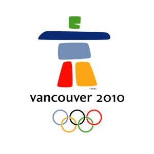 Official logo for the 2010 winter Olympic games in Vancouver