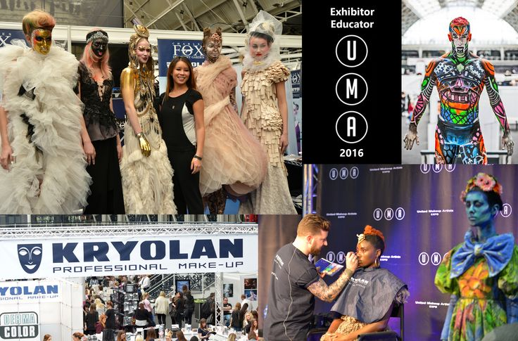 Of course we all know Kryolan UK. Not only from their great makeup lines, but also from the fab demonstrations and educational seminars at UMAe the last three years. We are thrilled to announce they will be back for #UMAe2016! We for one can't wait to see what they will bring us this time. If you can't wait, either, here's a video of some of the amazing looks they created for the second issue of MUI Magazine: https://www.youtube.com/watch?v=AiKm0TjuVLw&feature=youtu.be