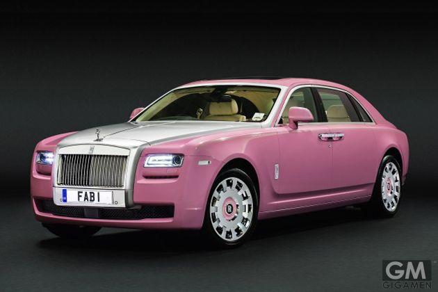 ピンククラウンに対抗して ピンク車がまた登場 Rolls Royce Pink Car Royce