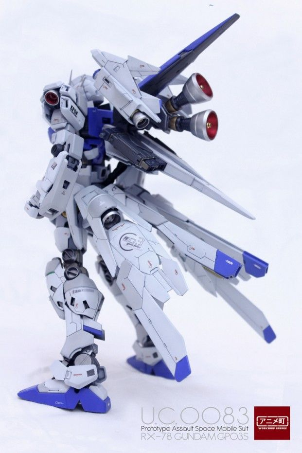 POINTNET.COM.HK - MG 1/100 Prototype Assault Space Use Gundam RX-78 GP03S + Weapon System